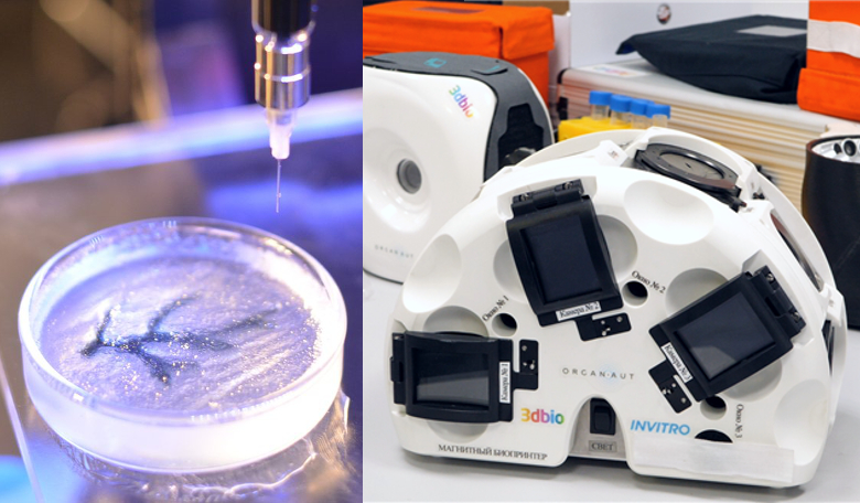 3D printed body parts being studied for future astronauts