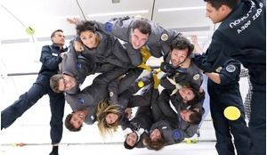 Air Zero G passengers are divided into groups of ten with an instructor to allow everyone to make the most of the available activities and enjoy the weightless experience in safety.