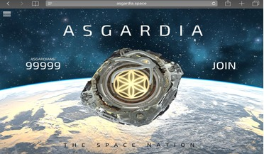 Aerospace International Research Center (AIRC), Asgardia, Igor Ashurbeyli