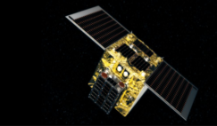 Astroscale's End of Life Services (ELSA-d) satellite which is scheduled to launch in early 2020. Image: Astroscale