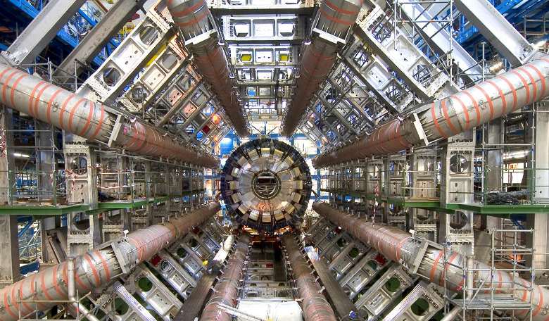 ATLAS, one of the four major experiments at CERN, that is seeking answers to questions such as what are the fundamental forces of nature - could it find the fifth fundamental force? Image: CERN