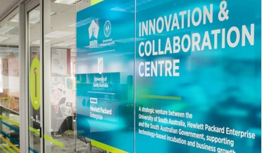 space start-up, ​The University of South Australia's Innovation and Collaboration Centre (ICC)