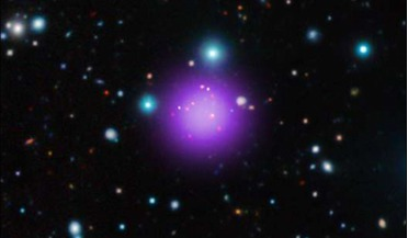 Chandra X-ray, CL J1001, galaxy cluster, NASA, Tao Wang