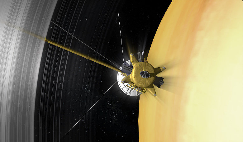 Cassini, one of the most ambitious efforts in planetary space exploration ever mounted, will end its mission around Saturn in July 2017. Image: NASA