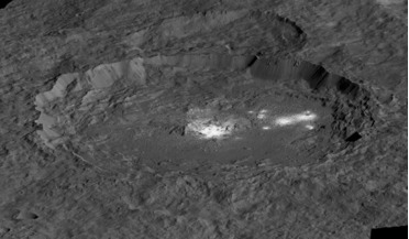 Cerealia Facula, Ceres, cryovolcanism, Dawn Mission, Occator Crater