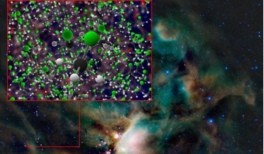 Atacama Large Millimeter/submillimeter Array (ALMA), chloromethane, IRAS 16293-2422A, organohalogens, Rosetta Mission