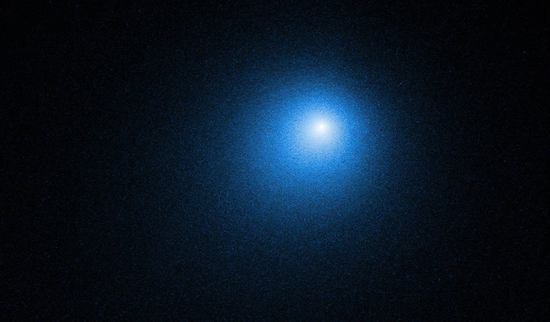 Hubble captured this view of comet 46P/Wirtanen on 13 December, 2018. Image: NASA, ESA, D. Bodewits (Auburn University) and J.-Y. Li (Planetary Science Institute)