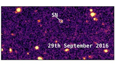 Dark Energy Survey, DES16C2nm, Superluminous supernova (SLSN), Type 1a supernovae