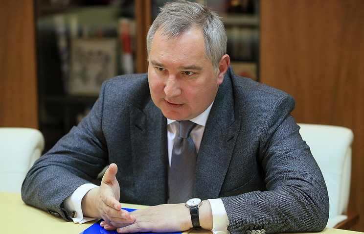 Head of Roscosmos, Dmitry Rogozin. Rogizin discussed plans this week for the construction of a super-heavy rocket which would be set to launch in 2028