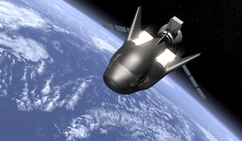 Dream Chaser's first orbital mission will be a cargo resupply flight to the International Space Station, and is scheduled for late 2020. Image: Sierra Nevada Corp