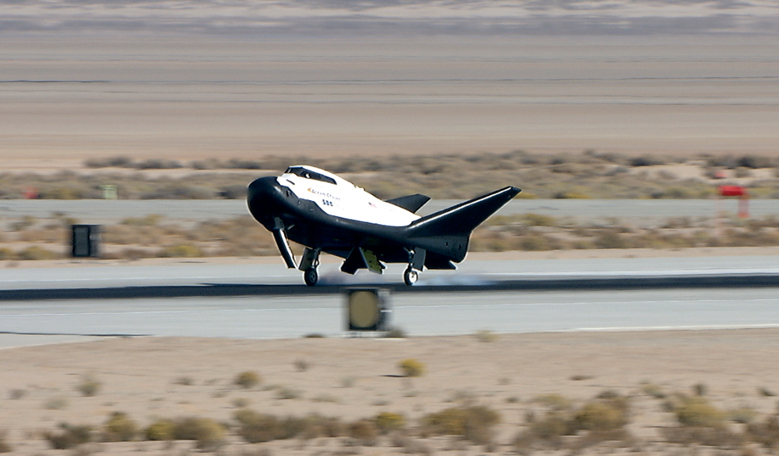 Dream Chaser landing. Image: NASA