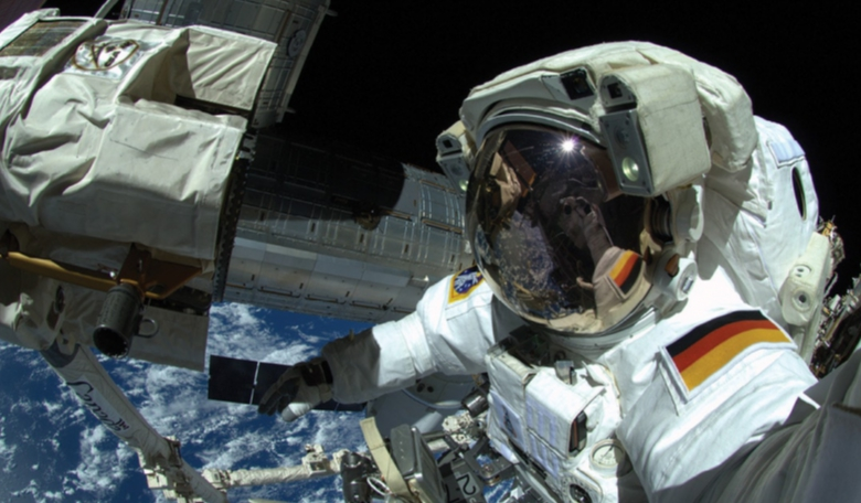 ESA astronaut Alexander Gerst, pictured during his EVA on 7 October 2014, is training for a second mission to the ISS.