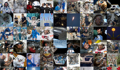 Nine years of ESA's class of 2009 astronauts. Image: ESA