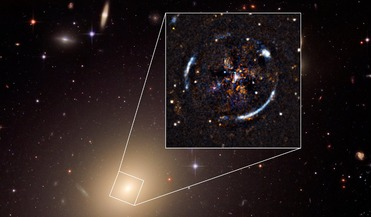 Einstein Ring, ESO 325-G004, Multi Unit Spectroscopic Explorer (MUSE), Theory of general relativity, Very Large Telescope
