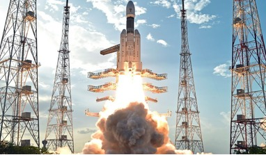 The Geosynchronous Satellite Launch Vehicle (GSLV) Mk III could carry an uncrewed test mission for India's Gaganyaan program as part of the nation's launch plans for 2020-21. Image: ISRO