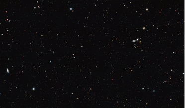 Great Observatories Origins Deep Survey (GOODS), Hubble Deep Field images, Hubble Space Telescope, observable Universe, Olbers paradox
