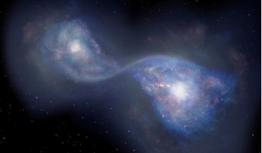 Atacama Large Millimeter/submillimeter Array (ALMA), B14-65666, galaxy formation, galaxy merger, Sextans