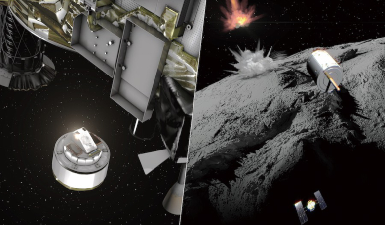 Spacecraft creates crater on asteroid with goal of unlocking solar system's origins