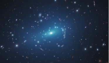Dark Matter, ESO's VLT Survey Telescope (VST), galaxy cluster, Hubble Space Telescope, MACS J1206.2-0847