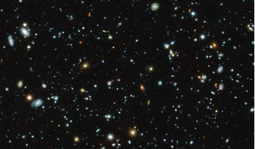 ESO's Very Large Telescope, Hubble Space Telescope, Hubble Ultra Deep Field (HUDF), Lyman-alpha emitters, MUSE (Multi Unit Spectroscopic Explorer)