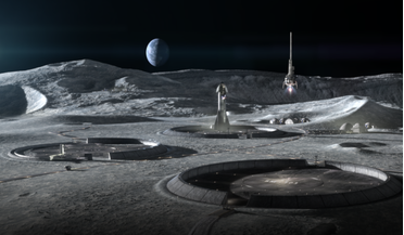 Artemis, ICON, Moon base, NASA, Project Olympus
