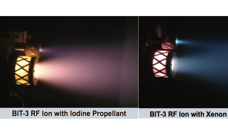 First iodine fuelled thrusters pass critical design tests
