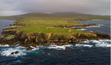 The Shetland launch site at Lamba Ness on the island of Unst. Image: Shetland Space Centre Ltd
