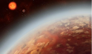 exoplanet atmospheres, Hubble Space Telescope, K2-18 b, M-dwarf star, water vapour
