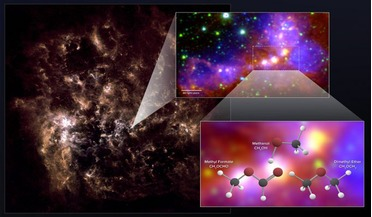 Atacama Large Millimeter/submillimeter Array (ALMA), dimethyl ether, Large Magellanic Cloud, methanol, methyl formate
