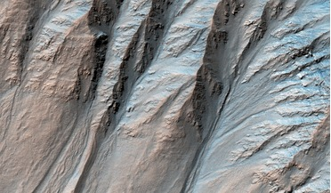 desert hydrology, Mars Express, Mars Reconnaissance Orbiter (MRO), Mission to Mars, Recurrent Slope Linae