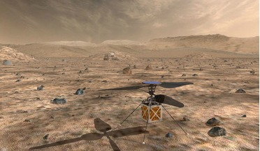 heavier-than-air vehicle, Jet Propulsion Laboratory, Mars 2020 Rover, Marscopter, NASA's Journey to Mars