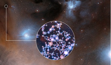 Atacama Large Millimeter/submillimeter Array (ALMA), glycolaldehyde, IRAS 16293-2422, Methyl isocyanate, protostar