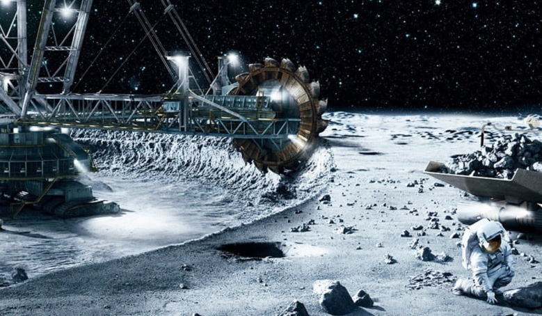 The future of mining on the Moon?