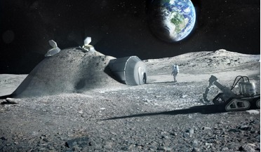 3D printing, Additive manufacturing, Moon base, space colonisation, urea