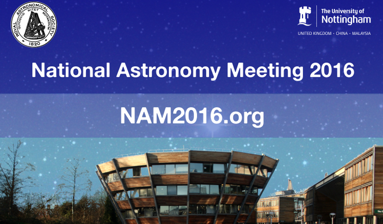 National Astronomy Meeting 2016