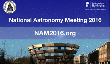 National Astronomy Meeting, Science and Technology Facilities Council, University of Nottingham, Royal Astronomical Society