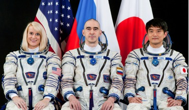 Anatoly Ivanishin, Expedition 48-49 crew, Kate Rubins, Soyuz MS-01 spacecraft, Takuya Onishi