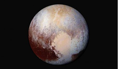 Pluto; The (dwarf/maybe not dwarf) planet with a heart. Should this enigmatic object be reclassified a planet again? UCF scientist Philip Metzger says yes based on his research. Image: NASA