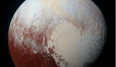clathrate hydrates, NASA's New Horzons Mission, Sputnik Planitia, subsurface ocean, Tombaugh Region