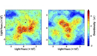 early phase galaxy cluster merger, Hyper Suprime-Cam (HSC), Protocluster, Quasar, Subaru Telescope