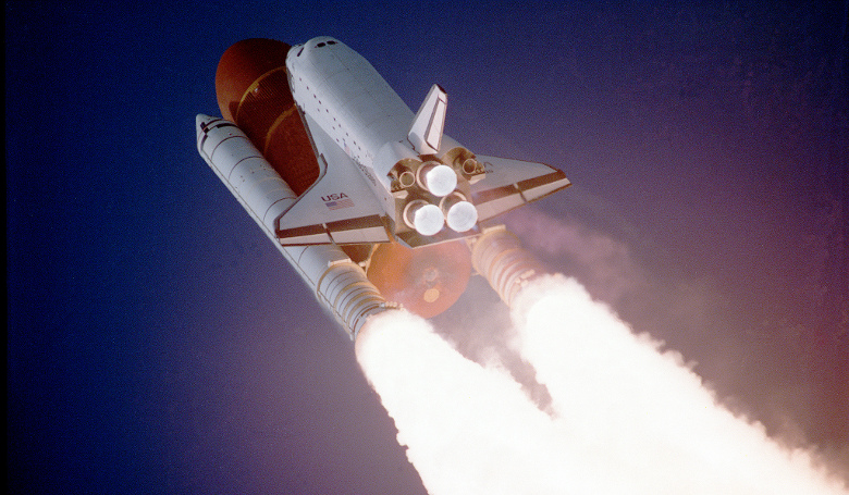 Space Shuttle Atlantis taking flight on its STS-27 mission. Image: NASA on the Commons