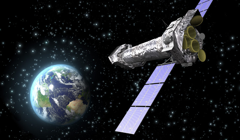 Artists impression of a satellite in space. Image: tes.com