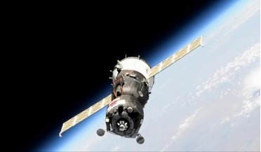 International Space Station, MIM-2 Poisk module, Skybot F-850, Soyuz MS-14 spacecraft, Zvezda port