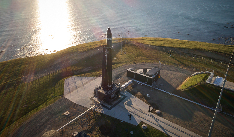 Rocket Lab's Launch Complex 1 located on the tip of the Māhia Peninsula, between Napier and Gisborne on the east coast of the North Island of New Zealand. Image: Rocket Lab