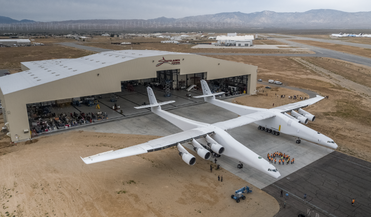 Orbital ATK Pegasus XL vehicle, Paul G. Allen, Scaled Composites, Stratolaunch, twin-hulled