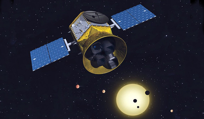 The Transiting Exoplanet Survey Satellite (TESS) - one of NASA's missions set for launch this year. Image: NASA