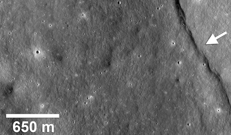 Lunar shrinkage may be causing moonquakes