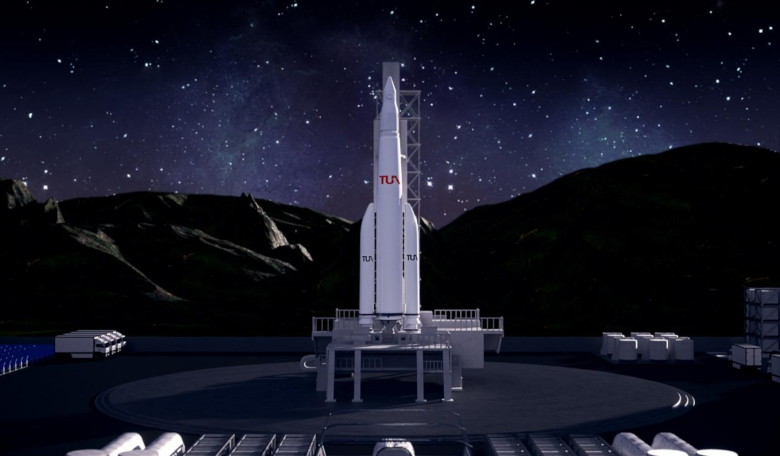 Turkey's President Recep Tayyip Erdogan has revealed an ambitious timetable with the aim of going to the moon on uncrewed missions by 2023. Image: Turkish Space Agency (TUA)