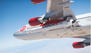Cosmic Girl, LauncherOne, Mojave Air and Space Port, NewtonThree engine, Virgin Orbit