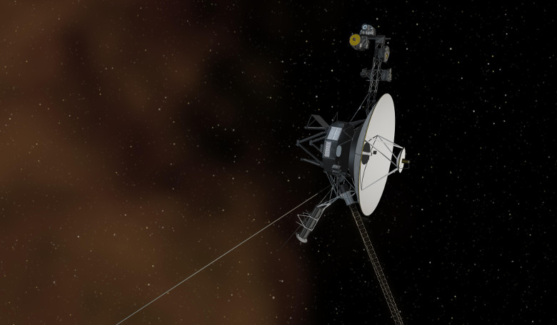 An illustration of Voyager 1's entry to interstellar space. Image: NASA